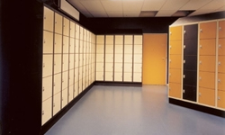 anti slip matten / lockers kluisjes